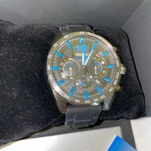 Seiko Essentials Men's SSB353 Chronograph Watch